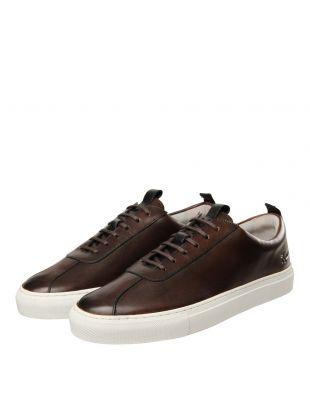 Sneaker 1 - Dark Brown