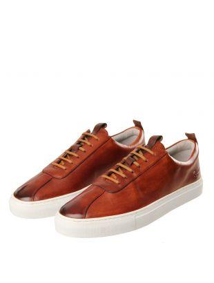 Sneaker 1 - Hand Painted Tan