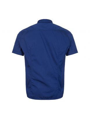 Athleisure Short Sleeve Shirt - Blue