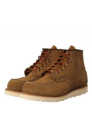 Moc Toe Boots - Olive Mohave