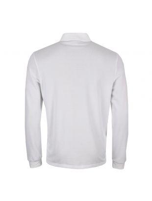 Long Sleeve Polo Shirt - White