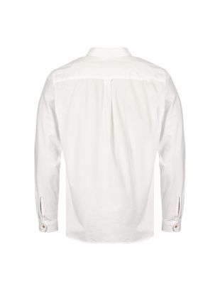 Pullover Shirt - White/Navy