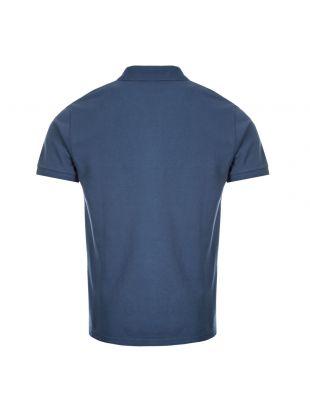 Polo Shirt Fox Patch - Petrol Blue