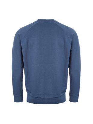 Sweatshirt Fox Patch – Petrol Blue