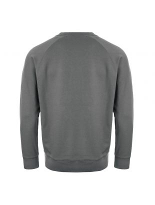 Sweatshirt Fox Patch - Grey