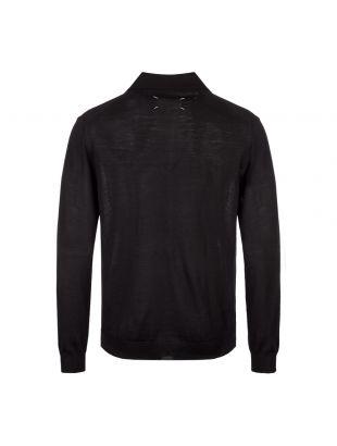 Long Sleeve Polo – Black