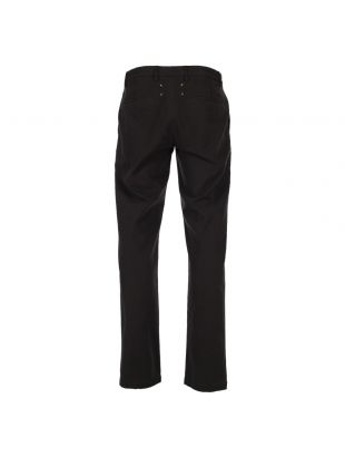 Military Trousers - Washed Black