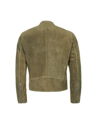 Suede Jacket - Green