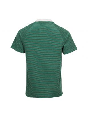 T-Shirt – Green/Olive Stripe