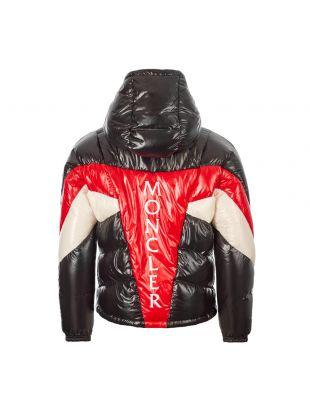 Jacket Anthime - Black / Red / White