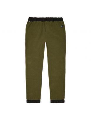 Fleece Trousers - Green / Black