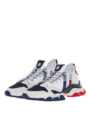 Trevor Trainers - White / Red / Blue