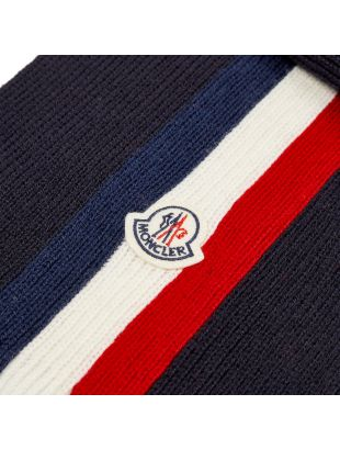 Scarf Striped - Navy / Red / White