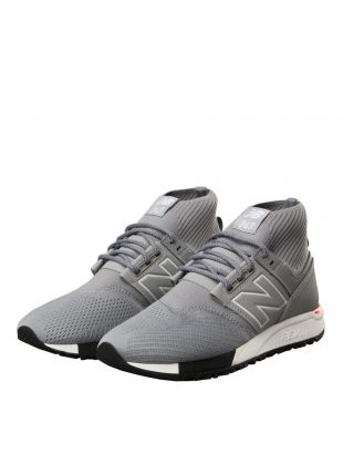 247 Mid Trainers - Grey