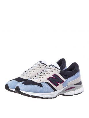 770.9 Trainers - Blue/Purple