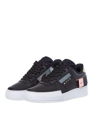 Nike AF1-Type Trainers - Black
