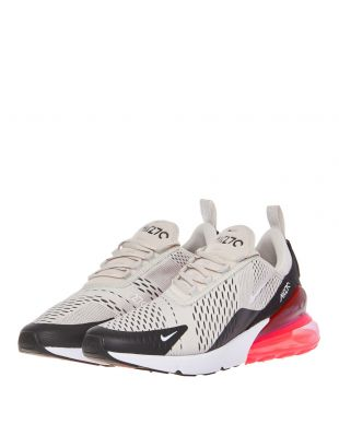 Air Max 270 Trainers - Light Bone / Hot Punch