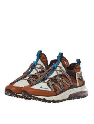 Air Max 270 Bowfin Trainers – Rust / Blue