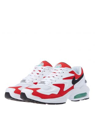 Air Max2 Light Trainers - Habanero Red / White