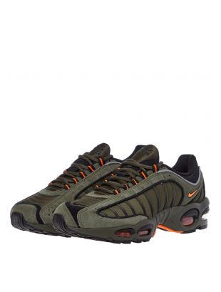 Air Max Tailwind IV Trainers – Green / Orange