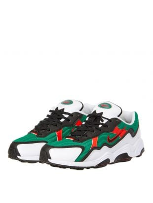 Air Zoom Alpha Trainers - Lucid Green / Habanero Red