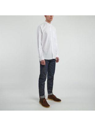 Anton Oxford Shirt - White