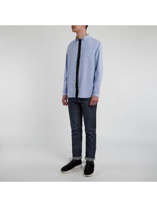 Anton Oxford Shirt - Pale Blue