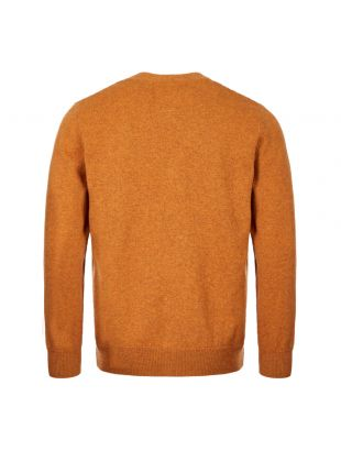 Cardigan Adam Lambswool- Rust