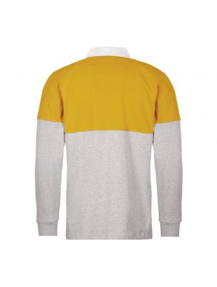 Rugby Shirt – Yellow Colour Block