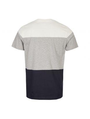 T-Shirt Niels Colour Block - Light Grey Melange