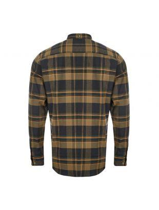 Shirt Anton – Ivy Green / Brown