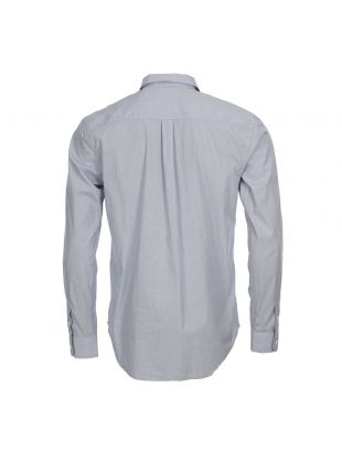 Shirt - Blue Fine Stripe Osvald