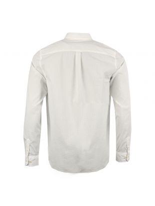 Oswald Shirt - Off White Seersucker