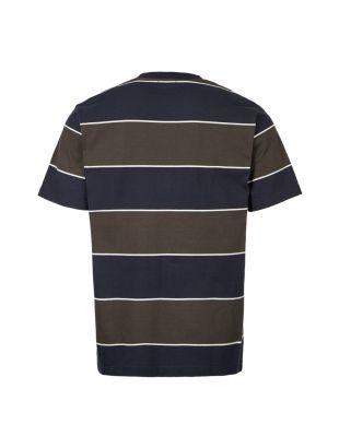 T-Shirt Johannes 3 Stripe - Green