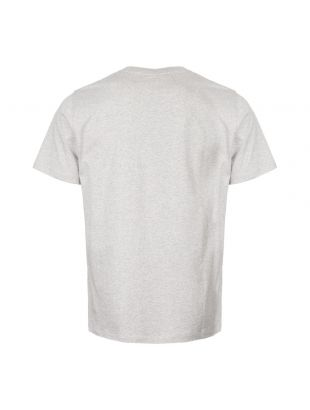 T-Shirt Niels Ivy Wave Logo - Grey