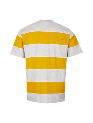 T-Shirt Johannes 3 Stripe - Yellow / Grey