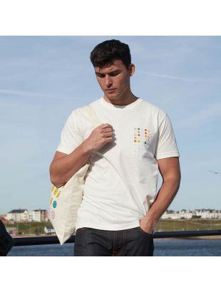 T-Shirt 25 Dots - Off White