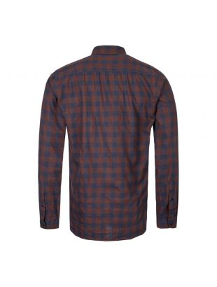 New York Special Shirt - Brown / Blue Check