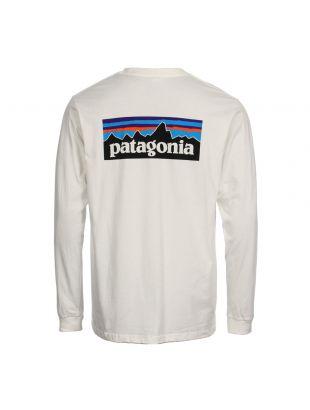 Long Sleeve T-Shirt P-6 Logo  - Cream
