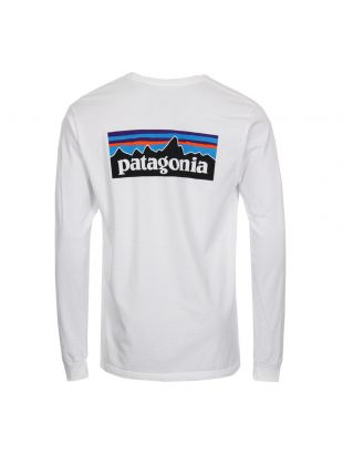 Long Sleeve T-Shirt P-6 Logo - White