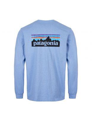 Long Sleeve T-Shirt P6 Logo - Wilder Blue