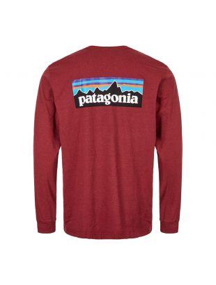 Long Sleeve T-Shirt P6 Logo - Oxide Red