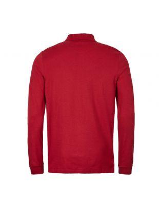 Long Sleeve Polo Shirt – Dark Wine