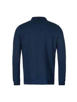 Long Sleeve Polo Shirt – Navy