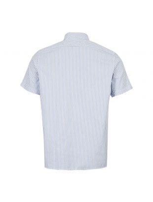 Short Sleeve Shirt - Blue / White