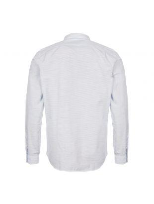 Shirt Stripe - White / Blue