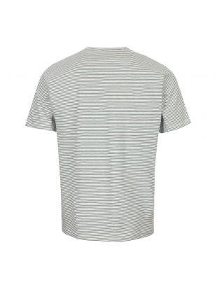 T-Shirt Stripe - Ecru / Green / Black