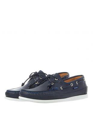 Archer Boat Shoe - Dark Navy