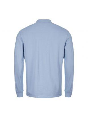 Long Sleeve Polo Shirt – Blue