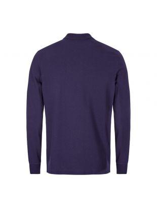 Long Sleeve Polo Shirt - Violet / Purple